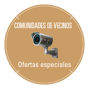 Cámaras de Videovigilancia para comunidades de vecinos