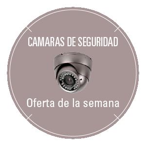 Oferta de cámaras de seguridad y videovigilancia semanal en Teknometric
