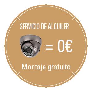 Servicios de Alquiler y Mantenimiento de Cámaras de Videovigilancia y Seguridad